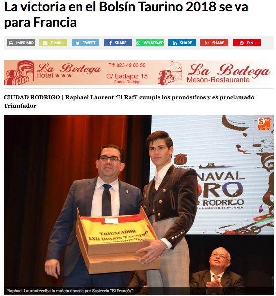 ElRafi_Vainqueur_Bolsin_Ciudad_Rodrigo