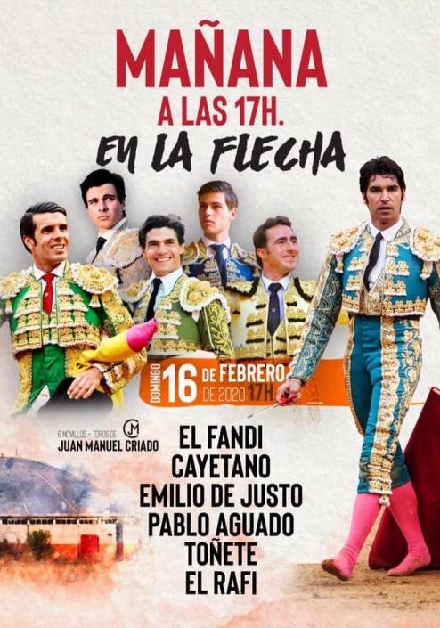 Cartel du Festival de La Flecha